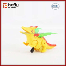 Plastic Dinosaur go walking toy hand press toy