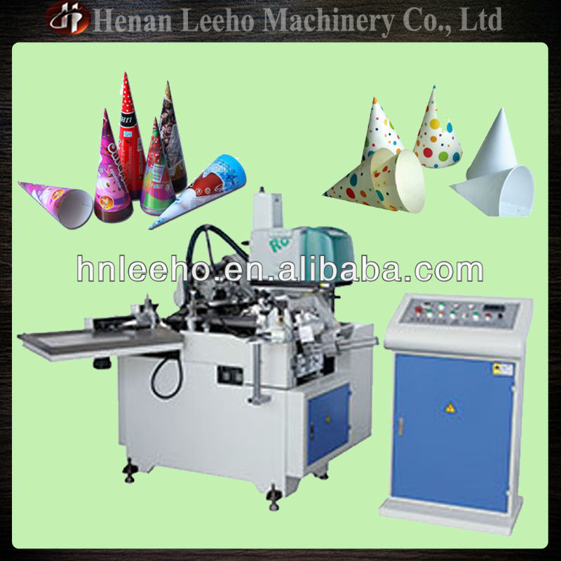 Automatic Ice Cream Cup Paper Cone Sleeve Making Machine 0086 15333820631