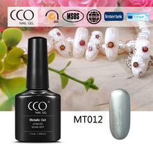 CCO Diamond Quality Metallic Gold Gel Nail Polish Charming Metallic Color Nail Gel Polish Wholesale with Competitive Price