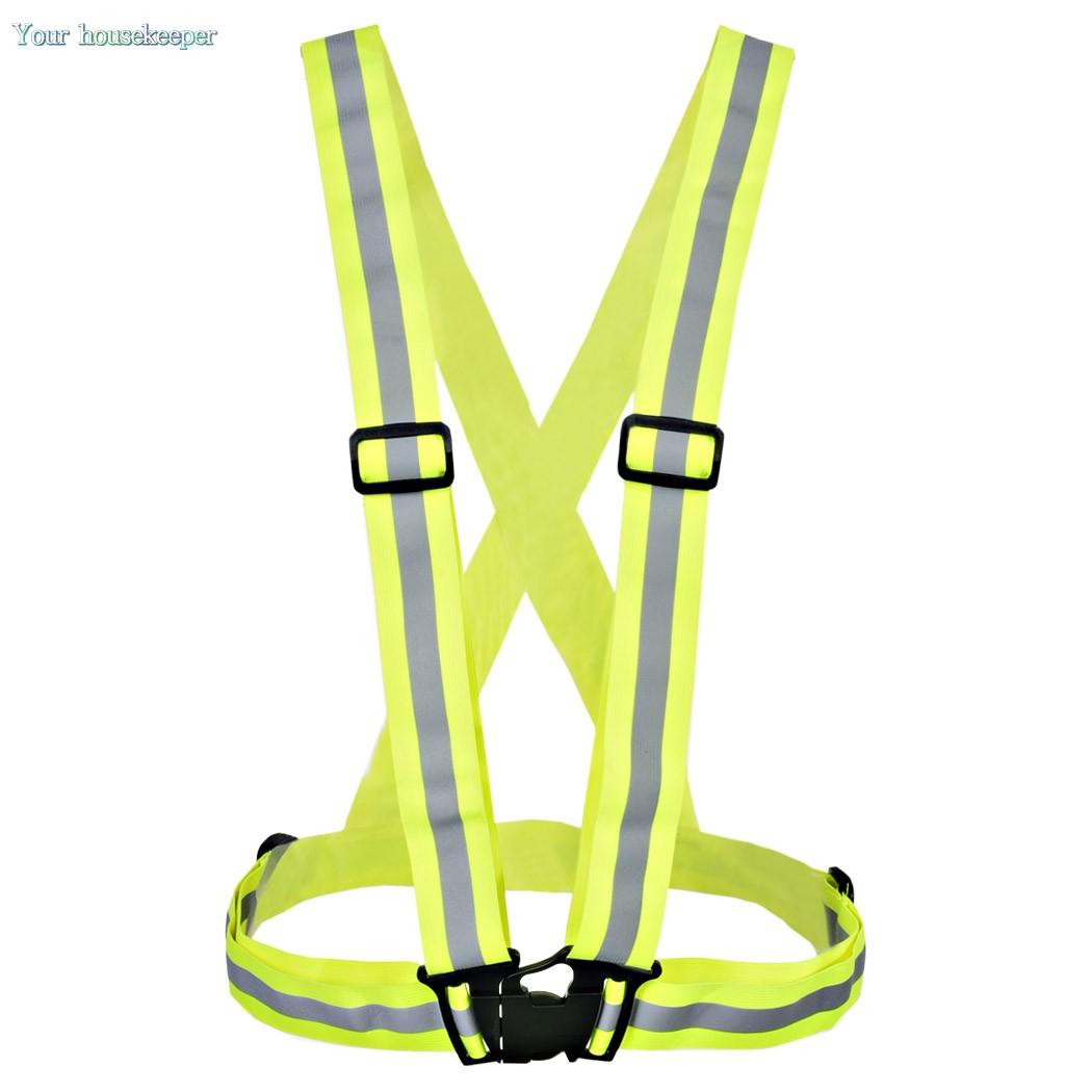 Высокая видимость жилет безопасности светоотражающий жилет велоспорт жилет , пригодный для спорта и отдыха 57