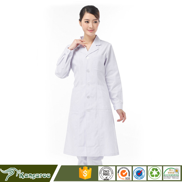 Clinic Doctors Medical Scrub Uniform For Cotton Fabric United States
