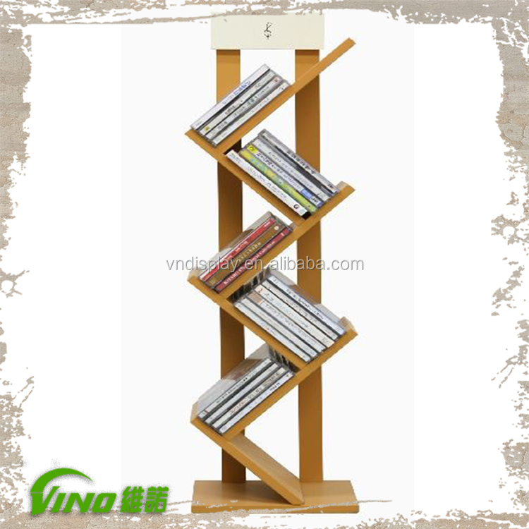 Exhibition Stand Design Books : New design book display racks nature wooden stand