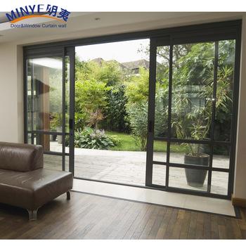 Low E Gl Outside Design Sliding Door For Villa