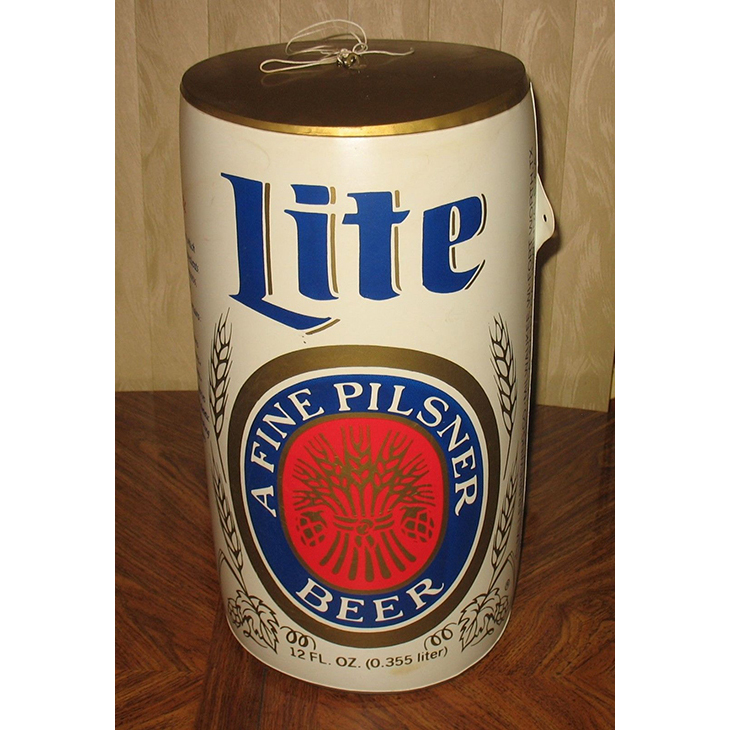 Giant promotion Miller Lite Inflatable Beer Can Display