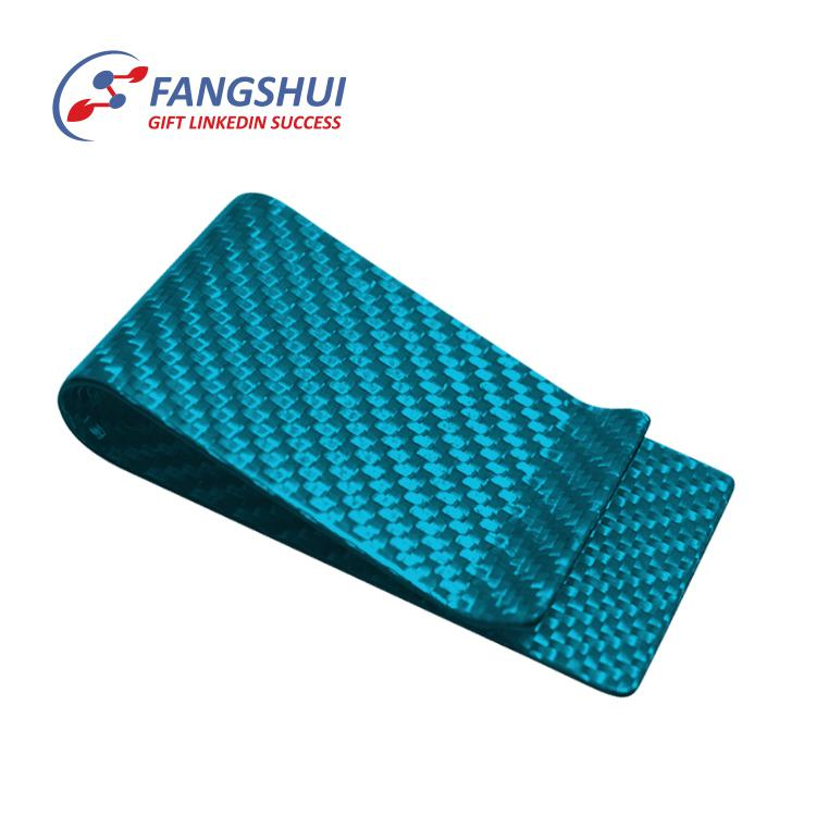 High-Grade hold up 1 to 7 cards against reading carbon fiber money clip,multi card stainless steel metal wallet money clip
