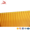 height wave solar polycarbonate panel for swimming pool cover