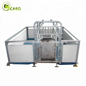 Pig Gestation Nursery Pen Swine Farm Breeding Feeding Pig Cage Equipment Farrowing Crate Stall