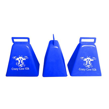 Cowbell wholesale in various colors with lanyard for promotion/sporting