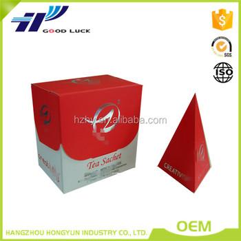 Unique Design Paper Box For Tea Wholesale