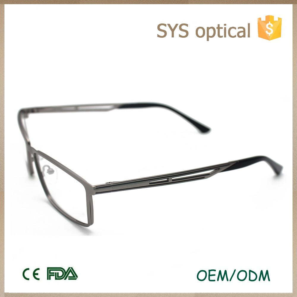 Good quality optical metal see eyewear frame for men