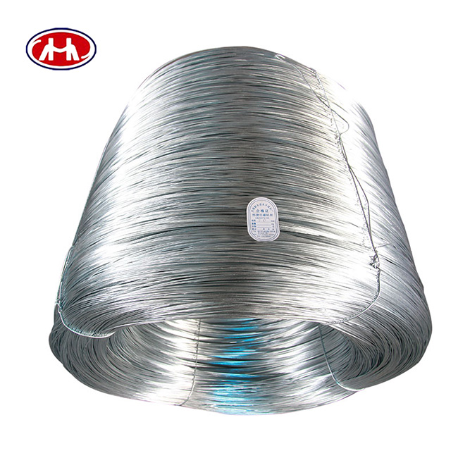 High tensile strength BWG 3-BWG30 IRON RODS hot dipped galvanizing book binding wire