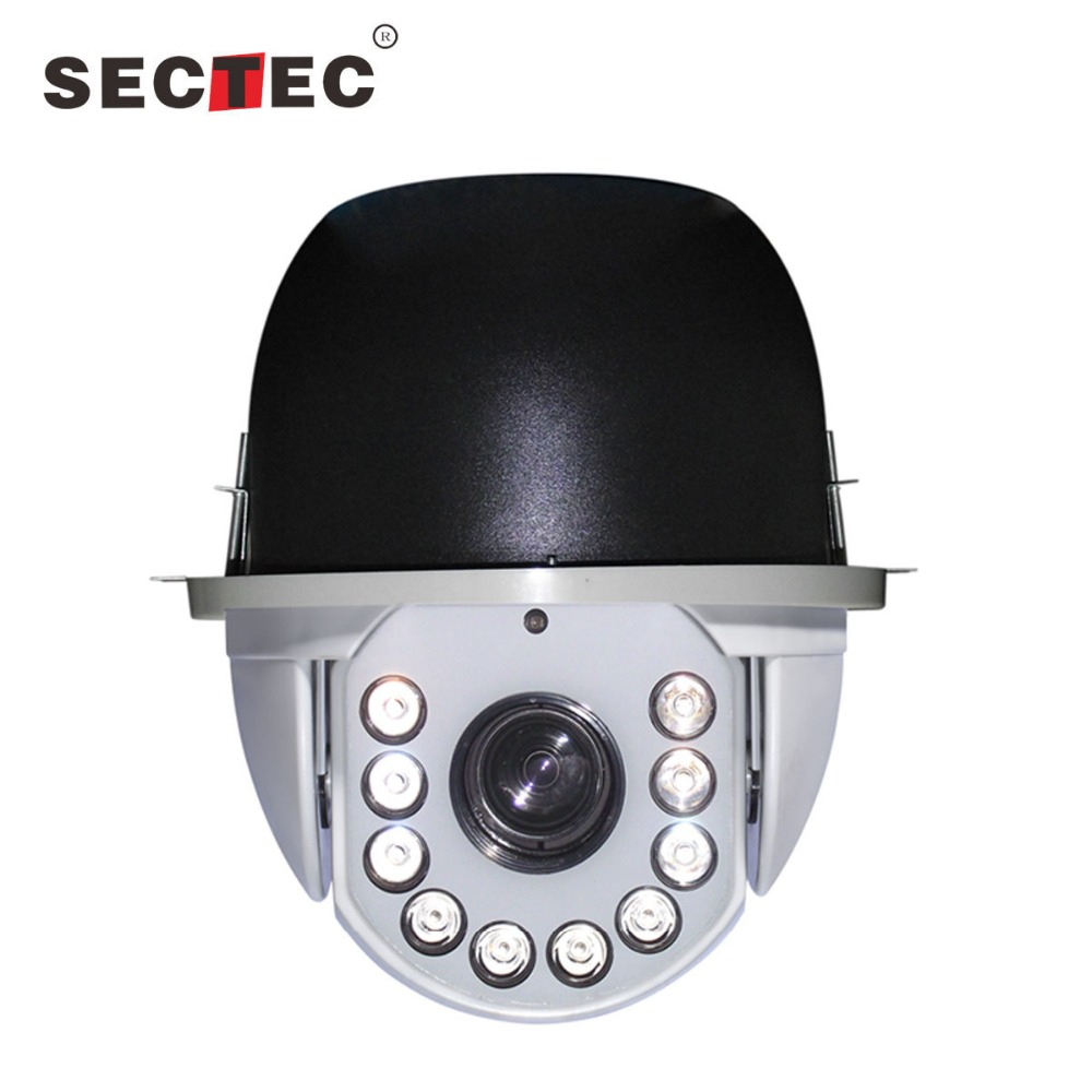 7 inch IR high speed dome camera bunker hill ptz security camera 36X optical zoom ptz camera