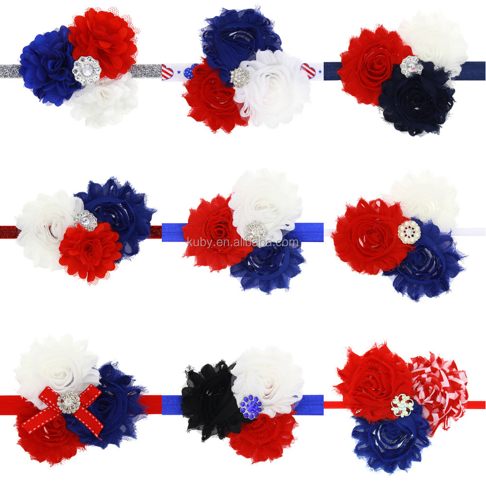 2018 Factory Price Wholesale Girls Hair Accessories Baby Holiday Flower Headband