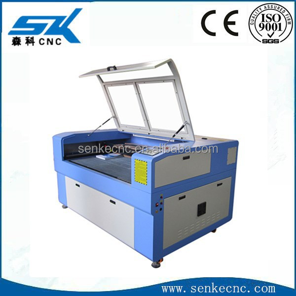 laser pcb etching machine SKL-6090 for crystal gifts PCB leather marble wood Acrylic Sign and Number