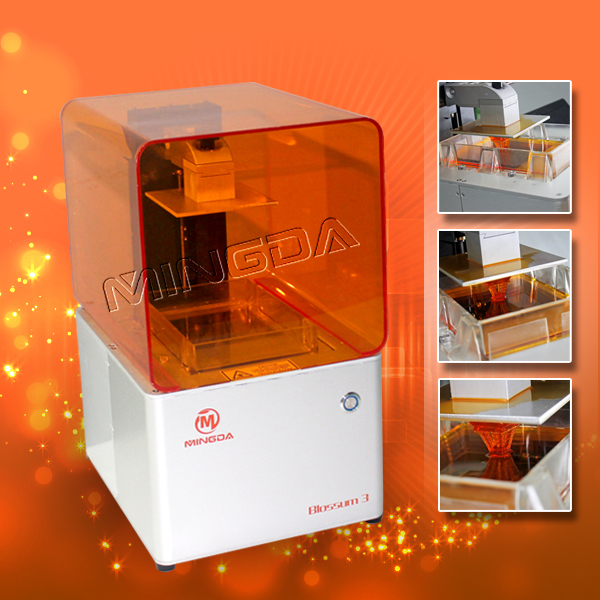 Mingda 3d wax printer for jewelry model making machine Making models for 3d printing