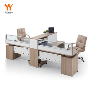 Ergonomic 2 person mobile industrial cubicle workstation