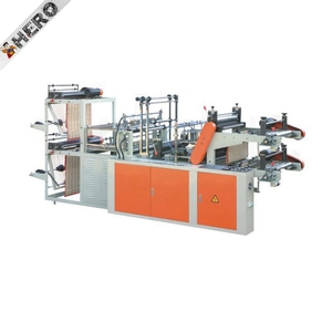Automatic Paper Shopping Bag Making Machine poly bag making machine