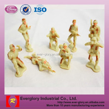 Small plastic soldier for kids, painting plastic soldiers