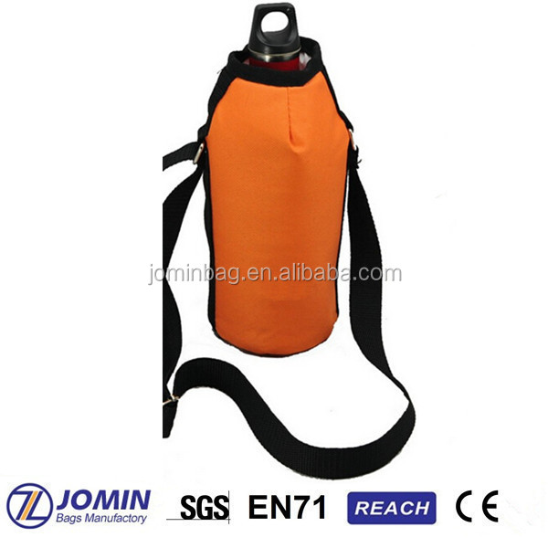 portable orange oxford isothermal wine coolers for picnic