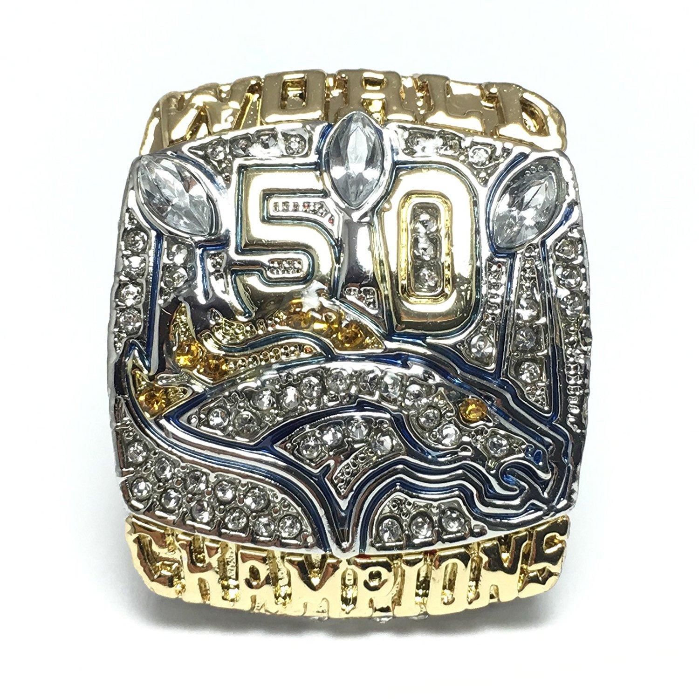 2015 Denver Broncos Super Bowl 50 Ring Von Miller