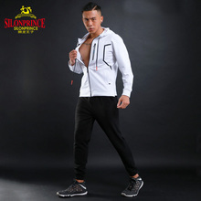 2017 wholesale running Sportwear new design long sleeve track suit sports jacket