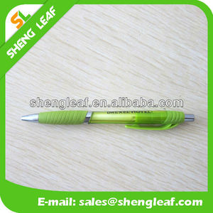 Customized logo fun promotional plastic ball pen