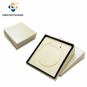 Luxury Crocodile Paper Cover Pearl Necklace Jewelry Packaging Box For Women,Folding Jewelry Box,Funky Jewelry Boxes