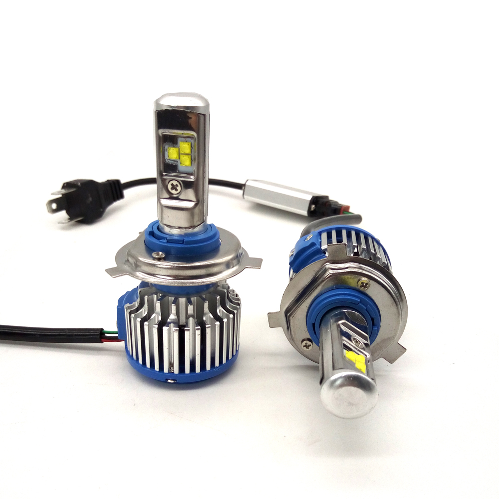Wholesale price 6000K Turbo Fan T1 Car Led Headlight H7 H4