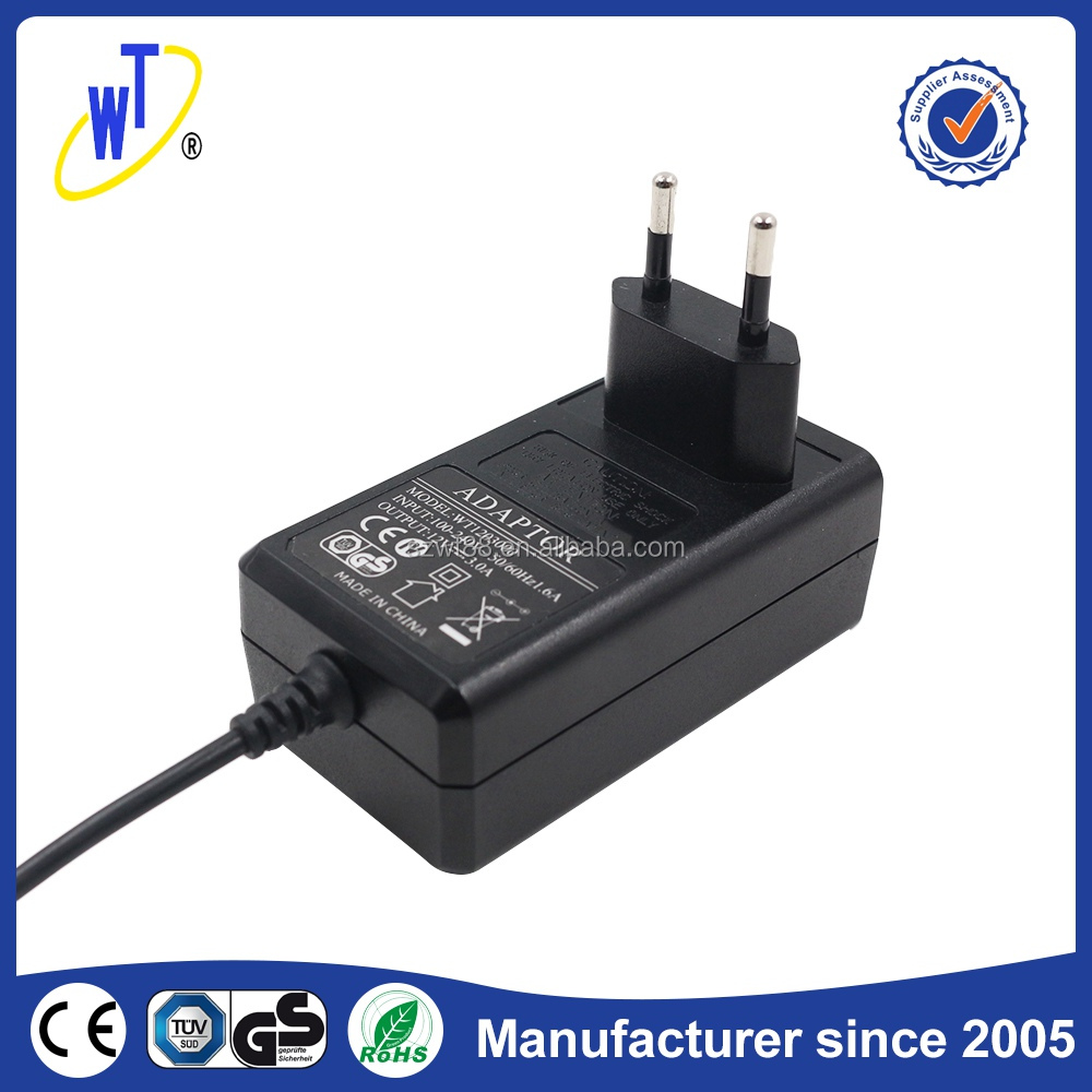 Consumer electronics power 110~240V 36W 24V 1.5A with CE ROHS switching power adapter