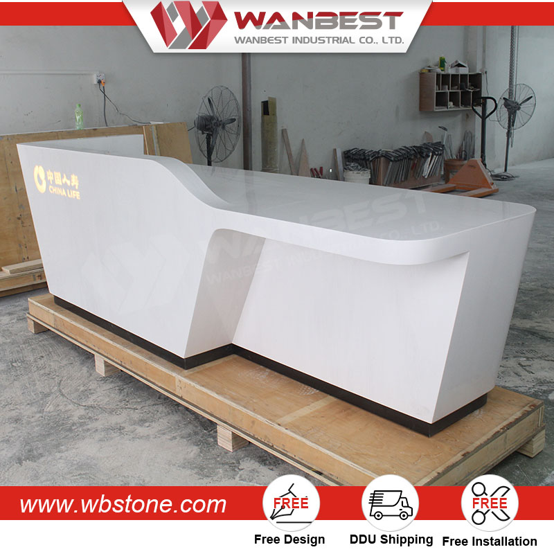 Professional Restaurant Cabinets Counters Receptionist Table Front Counter