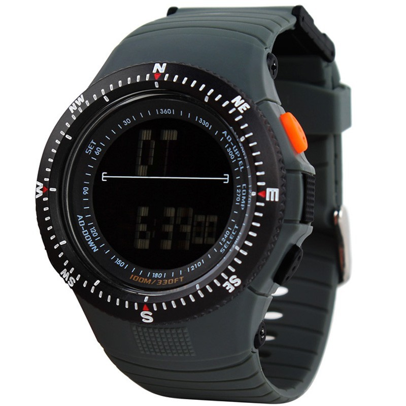 Hot Sale Waterproof Digital LCD Watch Multi-function relojes for men