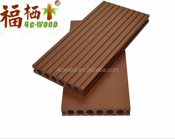 CANADA SPECIAL HOLLOW 2016 WOOD WPC PE NORMAL DECKING FLOOR HIGH QUALITY