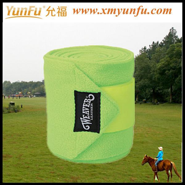 Tubular Colorful Bandage For Horse Leg Protect / Horse Boots