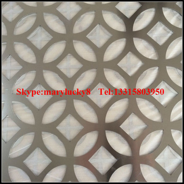 decorative laser cut aluminum perforated sheet metal - Decorative Sheet Metal
