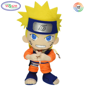 D319 Soft Plush Cartoon Doll Naruto Stuffed Toy Anime Hot Sale Goods Toys Naruto Plush Doll