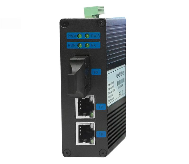 Industrial 8 port 10/100/1000Base-T + 2 port 100/1000Base SFP Managed Ethernet Switch