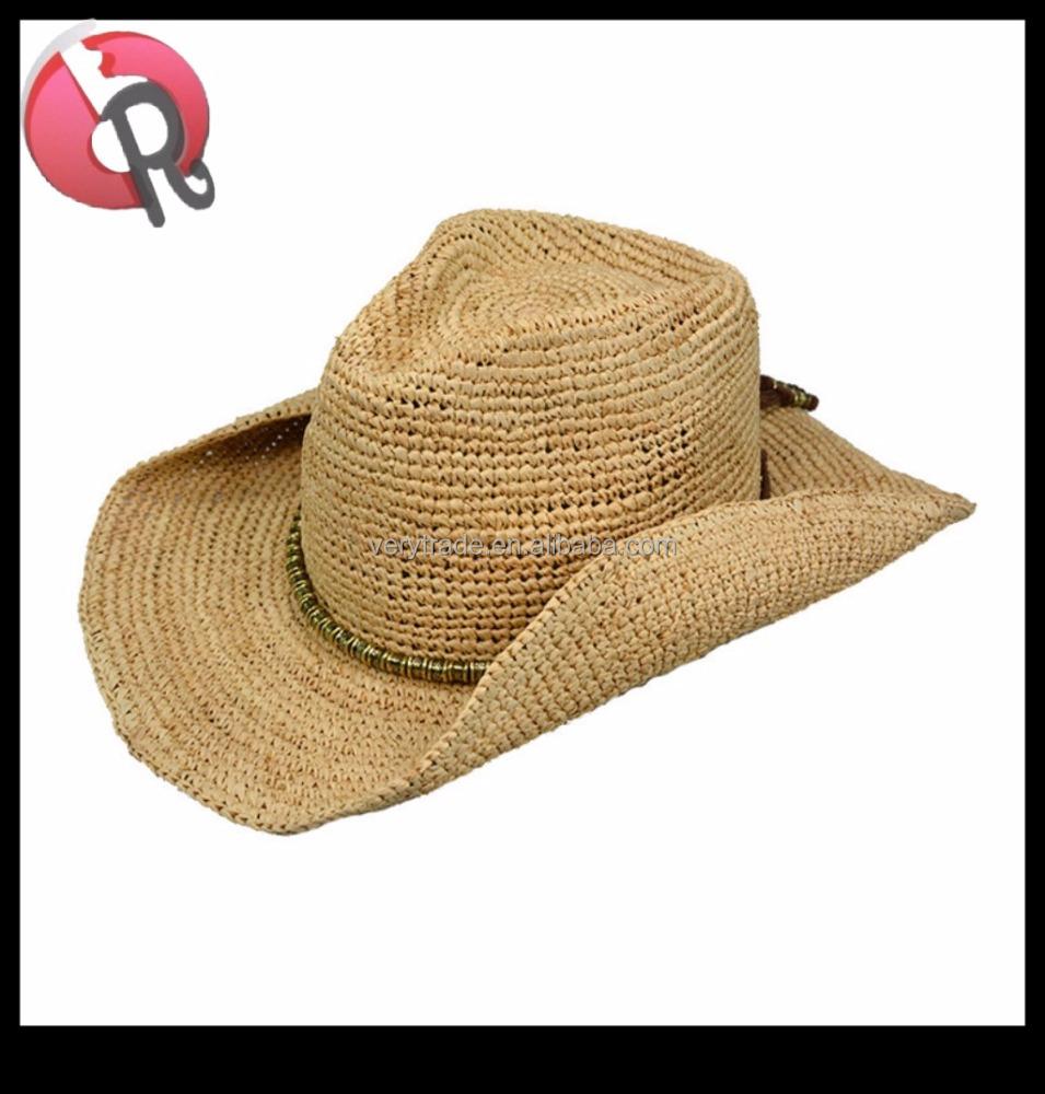 57f43ae72bf Greg Bourdy Brown Straw Cowboy Hat Womens