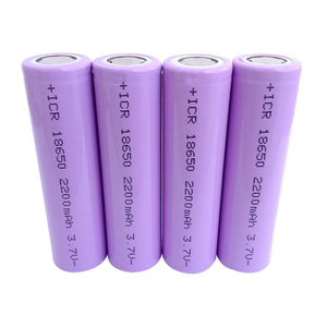 Rechargeable 18650 Lithium-ion 3.7v 2200mAh li ion battery cell