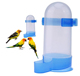 Suitable Many Kinds of Small Animals Harmless Plastic Squirrel Proof Bird Automatic Feeder 500ml on bird cage