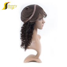 Ideal Excellent Quality curly human hair wigs for black women,short brazilian hair full lace wig,cheap hair pieces and wigs