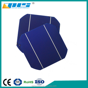 micro solar cell 5 inch monocrystalline 125*125 silicon material for sale