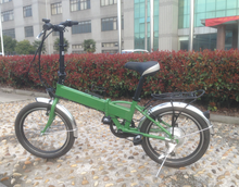 CE approved easily riding small city folding electric bicycle made in China