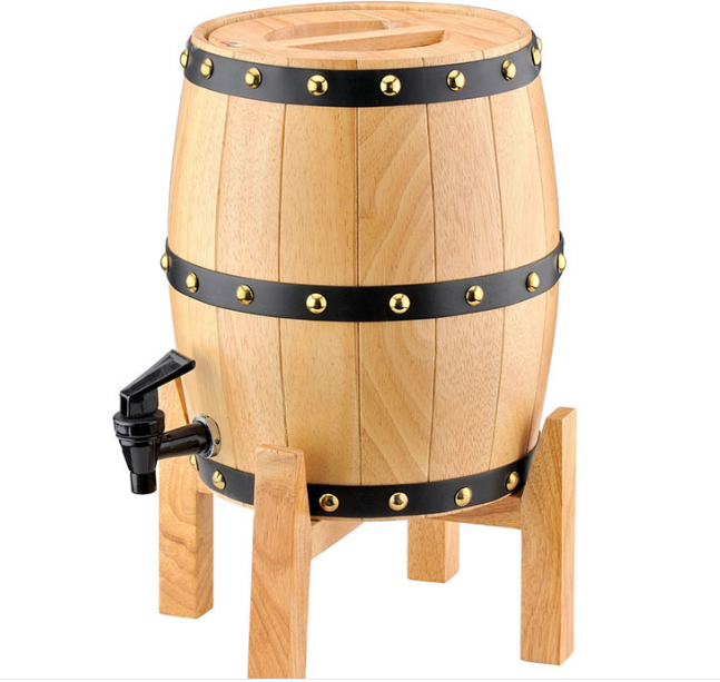 Holz Whisky Barrel Dispenser Bier Turm Handgemachte
