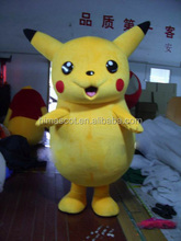 HI CE hot selling standard japan pikachu cartoon mascot costume