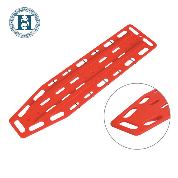 HS-A007 Spine Board Compatible With Most Head Immobilization Devices