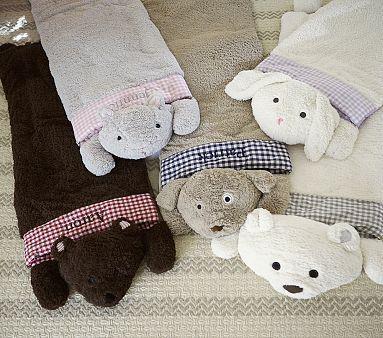 Kids Sleeping Bag With Pillow Monkey Cartoon Pattern Top Sales In Korea And Japan