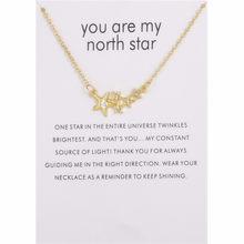 Золотой Цвет Корона журавль звезда изобилие изобилия имитация жемчуга изогнутый бар кулон ожерелье карта сообщения для женщин лучший пода...(Китай)