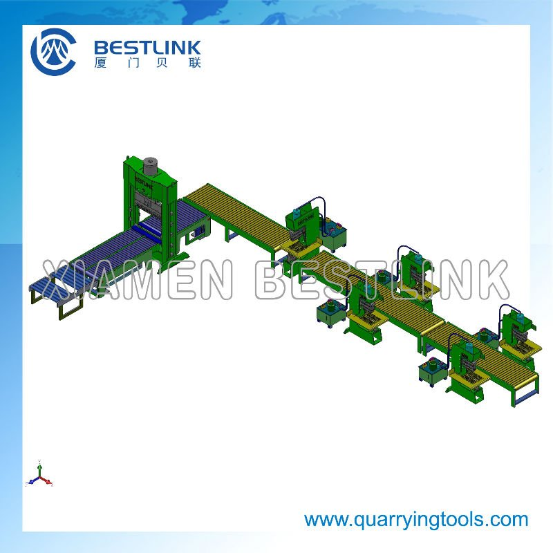 2020 Bestlink conveyor belt production line systems for stone cutting machine