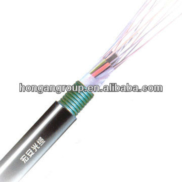 ourdoor single mode single armored tactical fiber optic cable