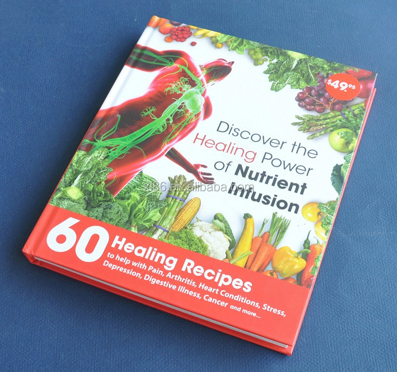Hardcover Cooking book /Recipe Book Printing